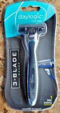 Daylogic Men 3-Blade Cartridge Razor Compares to Gillette Mach3