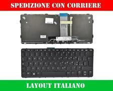 TASTIERA ITALIANA PER HP PROBOOK X2 612 G1 NERA