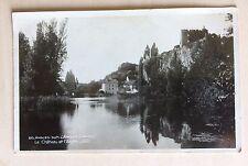 carte postale ancienne 50 Angles sur L'Anglin (Vienne) le Château ....