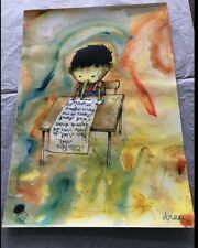 DRAN | Rare Unique Hand Finished Hand Signed Print PINOCCHIO  Edition of 100