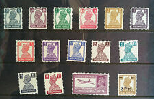 INDIA 1940 KGVI  WITH AIR MAIL COMPLETE SET  SG CAT VAL  £50  MNH