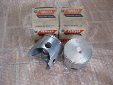 YAMAHA DT360A DT360 A 445-11635-00 PISTON STD SIZE GENUINE NOS JAPAN