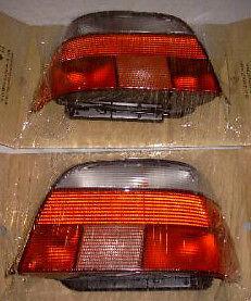 BMW Brand E39 5 Series Sedan 1997-2000 Genuine EURO M5 CLEAR TAIL LIGHTS NEW