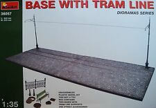 MINIART #36057 Base with Tram Line in 1:35