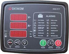 DATAKOM DKG-317 Manual do Gerador e Painel de Controle / Unidade de Partida Remo