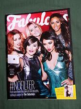 FABULOUS  - UK SUNDAY MAGAZINE -13 APRIL 2014 - VICTORIA BECKHAM - THE SATURDAYS
