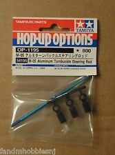Tamiya Fiat / Mini Cooper on M 05 Chassis Aluminum TB Steering Rod item 54195