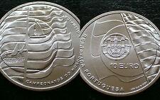 PORTUGAL / 10 EURO - CAMP. VELA OLIMPICA / 2007 / SILVER COIN