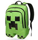 Minecraft Backpack School bag Boys Green Creeper Rucksack Sports Bag Waterproof