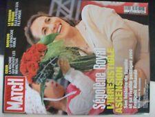 **u Revue Paris Match n°2994 Ségolène / Darfour / Machine qui prévoit infarctus