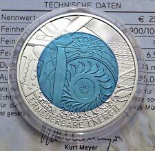 25 Euro Niob 2010 - Österreich - Erneuerbare Energie Hgh