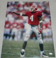 CHAMP BAILEY SIGNED AUTOGRAPHED GEORGIA BULLDOGS 16x20 PHOTO JSA