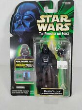 1999 Star Wars Power of the Force Darth Vader Comm Tech Chip Action Figure
