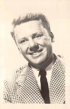 RPPC VAN JOHNSON HOLLYWOOD MOVIE STAR REAL PHOTO POSTCARD (c. 1950s)