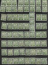 Collection of 65 Germany Stamps Scott # 827 USED ALBRECHT DURER, Strip 4, pairs