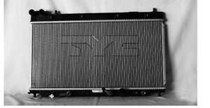 TYC 2955 Radiator Assy for Honda Fit 1.5L L4 Auto Trans 2007-2008 Models