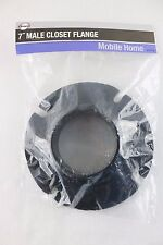 Danco 41974 Male Closet Flange Mobile Home, 7-Inch, Black ~ Sealed Package ~ New