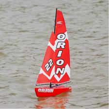 Amewi JOYSWAY BARCA A VELA Orion barca a vela, Rosso 46,5 CM, 2,4ghz