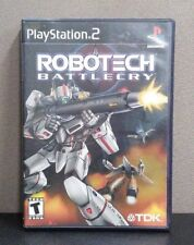 "Robotech: Battlecry     (Sony PlayStation 2)    ""T""   Complete With Instructions"