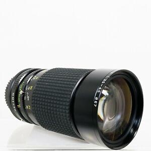 Tokina AT-X 35-200mm f/3.5-4.5 Manual Focus Zoom Lens +Macro | Canon FD | VG/EX