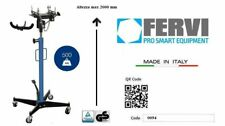 Sollevatore idraulico da fossa sottoponte 500 Kg FERVI 0094 con supporto cambio