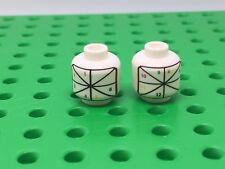 Lego White Factory Test Print Head (Printer Alignment) Prototype Very Rare