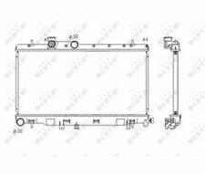Wasserkühler Kühler Motorkühlung Motorkühler SUBARU Impreza WRX 00-  NRF