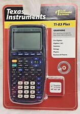 TEXAS INSTRUMENTS TI-83 Plus Graphing Calculator  033317198658 NEW ^