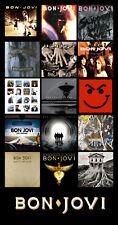 "BON JOVI album discography magnet (4.5"" x 3.5"")  def leppard guns n roses skid"