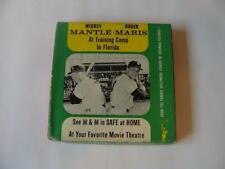 "1962 Vintage 8mm Movie, Mantle & Maris ""At Training Camp In Florida"", w/box"
