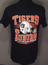 Auburn Tigers Football 2014 BCS National Championship Mens Medium Black T-shirt