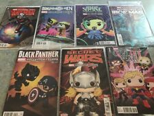 MARVEL COLLECTOR CORP VARIANT COVER COMICS LOT OF 7 LOOK!
