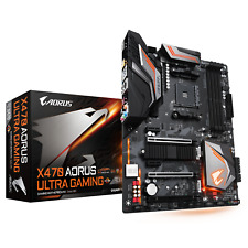 Gigabyte AORUS X470 Ultra Gaming ATX Mainboard Sockel AM4 USB3.1(C)/2xM.2/HDMI