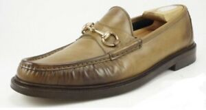 GUCCI Loafers Moccasins Horsebit Hand Made Size 9/5 ( Around 10US) AUTHENTIC