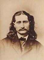 Wild Bill Hickok PHOTO Portrait, Calamity Jane Pal, Deadwood Gunfighter, Poker