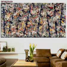 """Jackson Pollock """"Number 11"""" HD print on canvas large wall picture 47x24"""""""