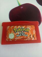Pokemon rojo fuego   Game Boy Advance , gameboy Sp , Nintendo Ds  PAL