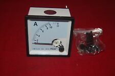 AC 0-10A Analog Ammeter Panel AMP Current Meter 72*72mm directly Connect