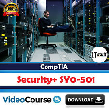 CompTIA Security+ - SY0-501 Training Video Course