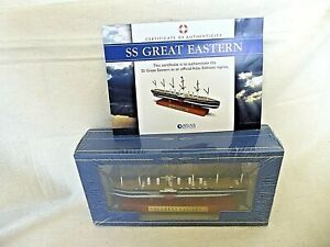 Atlas Edition SS GREAT EASTERN Diecast Model Ship 1:1250 Scale 2017 Boxed SEALED