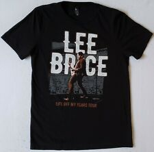 LEE BRICE Life Off My Years Tour Size Medium Black T-Shirt