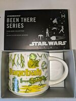 Disney Parks Starbucks Star Wars Been There Series Dagobah Yoda Mug Coffee New