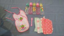 Winnie the Pooh plastic Bottles 2 pink plastic bottles