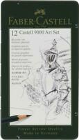 FABER-CASTELL - 12 CASTELL 9000 PENCIL ART SET - HARDNESS GRADES 8B - 2H