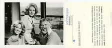 BARBARA WALTERS KENNY ROGERS MARIANNE GORDON ROGERS TV SPECIAL 1983 ABC TV PHOTO