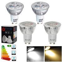 20/10/4 x LED Bulbs High Power 4W 6W GU10 Lamp Spotlight Kitchen Home Downlight