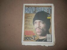 Rap Sheet Magazine Newspaper August 1993 Ice T Snoop Doggy Dogg