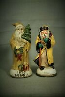 1894 Santa Claus 1885 Romania  ceramic figurines
