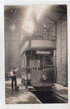 BACUP TRAM DEPOT: Lancashire postcard (C25491)