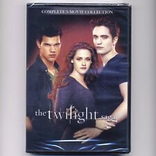 Twilight Saga Complete 5-Movie Collection, new DVDs Kristen Stewart, vampires, w